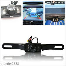 Waterproof Auto License Plate Frame Reversing Camera Backup IR Night Vision Kit