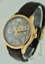 Maurice Lacroix Masterpiece Skeleton $27,900.00 gent's 18k Rose Gold watch.