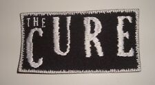 THE CURE - LOGO Embroidered PATCH Robert Smith The Sisters of Mercy Bauhaus