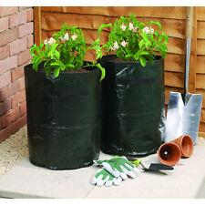 2pk patate verdure alla Fragola Borsa fioriera giardino pianta da frutto crescere borse di patate