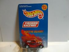 Hot Wheels Firebird Raceway Red Nightfire Delivery  w/Real Riders