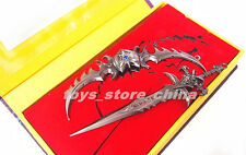 WOW illidan Stormrage Warglaive of Azzinoth VS Lich King Frostmourne New in Box