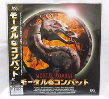 MORTAL KOMBAT: Christopher Lambert - Japanese original Vintage LASER DISC New