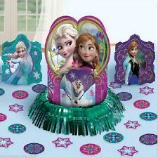FROZEN TABLE DECORATION KIT Centerpiece confetti Anna Elsa Birthday Party Supply
