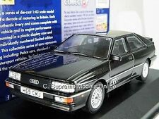 CORGI CC12904 AUDI QUATTRO 20V MODEL CAR 1:43 PANTHER BLACK VANGUARD K89Q