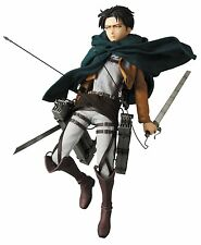 Medicom Toy RAH Real Action Heroes No.662 Levi Attack on Titan Figure Japan