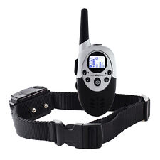 1000M LCD Electric Shock Pet Dog Training Remote Control E-Collar Rechargeable