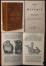 Jännicke-Historia de la cerámica 1900-cultura arte porcelana china Meissen-XZ
