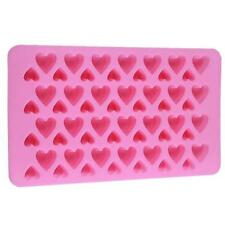 56 Small Love Hearts Silicone Chocolate Candy Mold Novelty Ice Lattice Mould Z