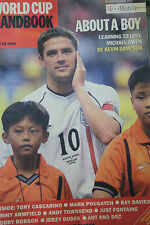 TIMES WORLD CUP HANDBOOK 2002  BARGAIN 170 X 260 mm 50 + pages