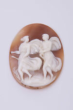 Antique Victorian Unset Carved Shell Cameo – Mythology