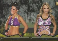 Bayley VS Emma NXT Rivalries WWE Then Now Forever 2016 Trading Card #12 Emmalina
