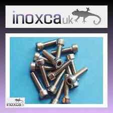 15 M5 X 20 HEX HEXAGON SOCKET CAP SCREW ALLEN BOLT A2 -70 STAINLESS STEEL METRIC