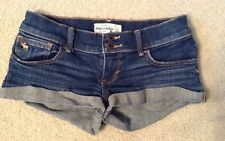 EUC! Girls Abercrombie Kids Denim Jean Shorts Sz 14