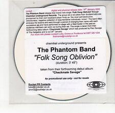 (GO121) The Phantom Band, Folk Song Oblivion - 2009 DJ CD
