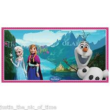 DISNEY FROZEN Princess Girls Birthday Party Scene Setter Wall Decoration