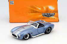 Shelby Cobra 427 S/C anno di costruzione 1965 BLU/ARGENTO 1:24 Jada Toys