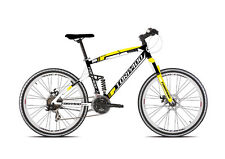 "Bici Torpado MTB Full Suspension SUV99 T560 26"" shimano 21V. L-48 FRENI A DISCO"