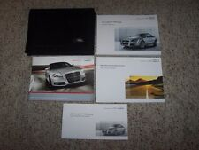 2011 Audi TT TTS Coupe Quattro Factory Owner's Owners User Manual Book Set