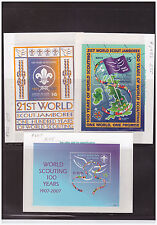 US Sc.995 BOY SCOUT AND MINI COLLECTION OF SHEETS FROM AROUND THE WORLD MNH PG22
