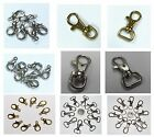 Silver & Gold Lobster Swivel Clasps Parrot Claw Metal Findings & Jewellery