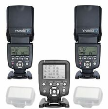 Yongnuo YN560TX LCD Wireless Flash Controller+2pcs YN560 IV Flash kit For Canon