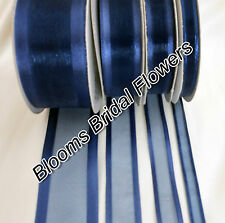 15mm SATIN EDGE ORGANZA RIBBON 3 LENGTHS AVAILABLE CHOOSE COLOUR