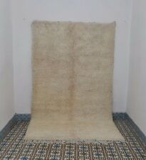 Beni Ourain Rug 10 Ft x 5 Ft Moroccan Handmade Authentic Wool Ouarain Carpet