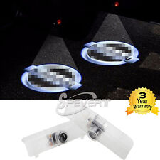 Pair of LED Car Door Welcome Projector Ghost Shadow Laser Logo Light for Nissan