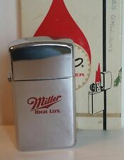 Zippo lighter slim. Miller High Life BEER RARE NEW IN BOX 1986  30 years Old