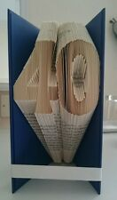 Book folding. 40 18 21 50 80 Any Ages unique handmade gift. Art birthday gift