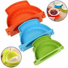 3x Colorful Dumpling Mould Dough Press DIY Meat Pie Pastry Empanada Maker Tool