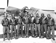 World War 2 Tuskegee Airmen Photo-332nd Fighter Group-477th Bombardment Group