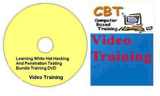 Learning White Hat Hacking And Penetration Testing Bundle Training DVD