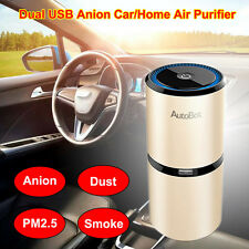 AutoBot Car Air Freshener Anion Ionizer Air Purifier Home Office Cleaner