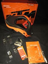 new KTM Leatt GPX 5.5 junior neck brace orange black motocross kids