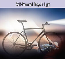 """Bicycle Dynamo Charger & T6 Bike Headlight Set"" ""USB Bike Pedal Phone Charger"""
