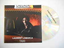 LAURENT LAMARCA : TAXI ( RADIO EDIT ) [ CD SINGLE PROMO ]