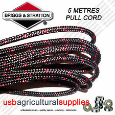 GENUINE BRIGGS 4.4MM X 5 MTR METRES PULL STARTER CORD ROPE 790967 ENGINE