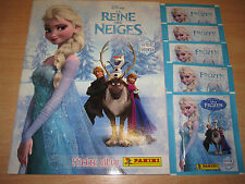 PANINI DISNEY LA REINE DES NEIGES ALBUM NEUF FR MOMENTS PRECIEUX + 25 STICKERS