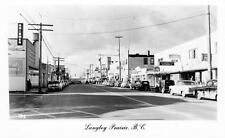 Photo. 1954-5. Langley Prairie, BC Canada. Trans-Canada Highway