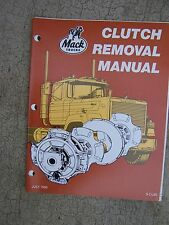 1986 Mack Truck Clutch Removal Replacement Manual MORE MACK ITEMS IN OUR STORE U