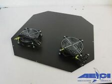 BLACK BOX RM501 TOP FAN PANEL WITH 2 IMPEDANCE PRODUCTS FANS P/N: OA109AP-11-ITB