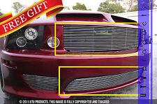 GTG, 2005 - 2009 SALEEN FORD MUSTANG 2pc CHROME COMBO BILLET GRILLE KIT