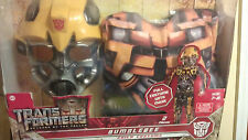 Classic Transformers Bumblebee Costume Size 7-8 Revenge of the Fallen Costume