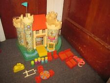 Vintage 1974 FISHER PRICE Play Family CASTLE 993 with Accessories
