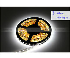 5M Flexible RGB Led Strip 3528 SMD 300 Leds String Light White lamp DC 12V