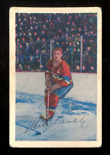 1952 53 PARKHURST HOCKEY #5 RICHARD DICK GAMBLE VG-EX MONTREAL CANADIENS