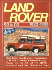 LAND ROVER 90 & 110 COUNTY PETROL & DIESEL ( 1983-1989 ) PERIOD ROAD TESTS BOOK