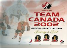 2002 Toronto Sun Olympic Hockey Pin Set & Album (24)